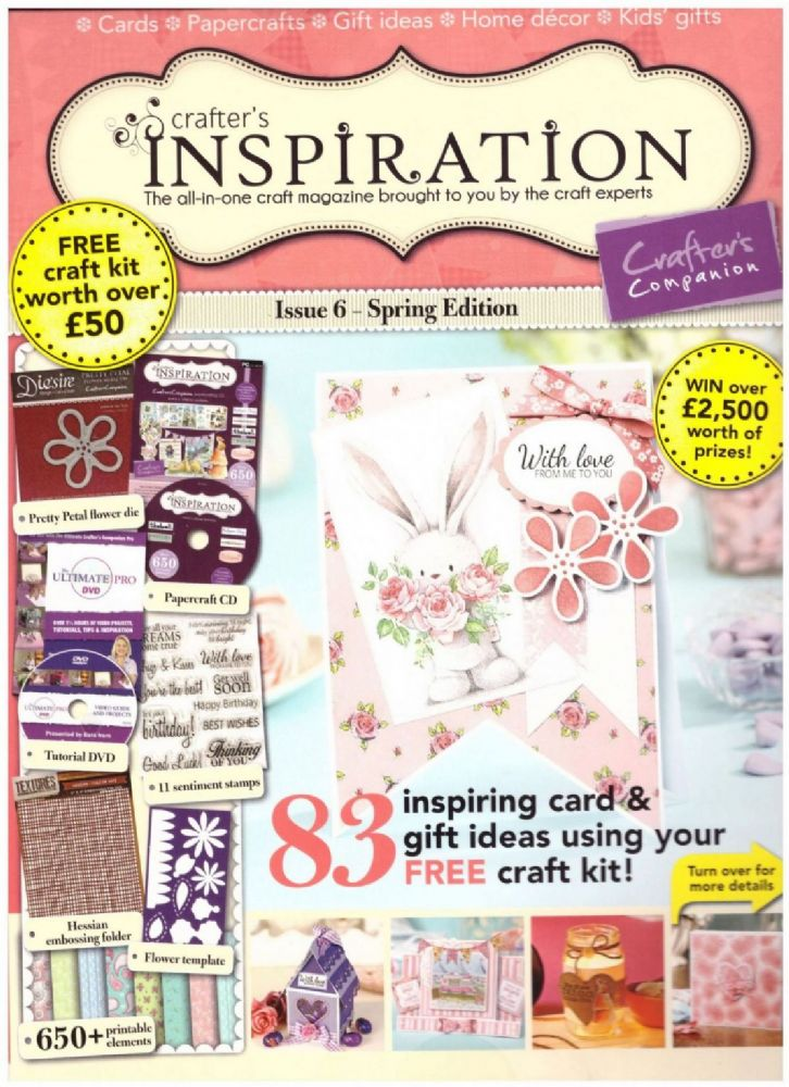 338679 spring crafter s inspiration magazine 50 of free craft kit